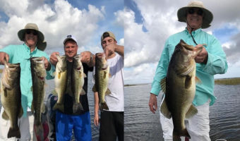 Bass Fishing Charter with Capt Mark Rose on Lake Okeechobee