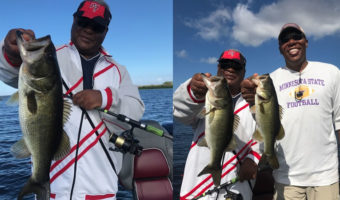 Belle Glade Bass Fishing on Lake Okeechobee from Slims Fish Camp